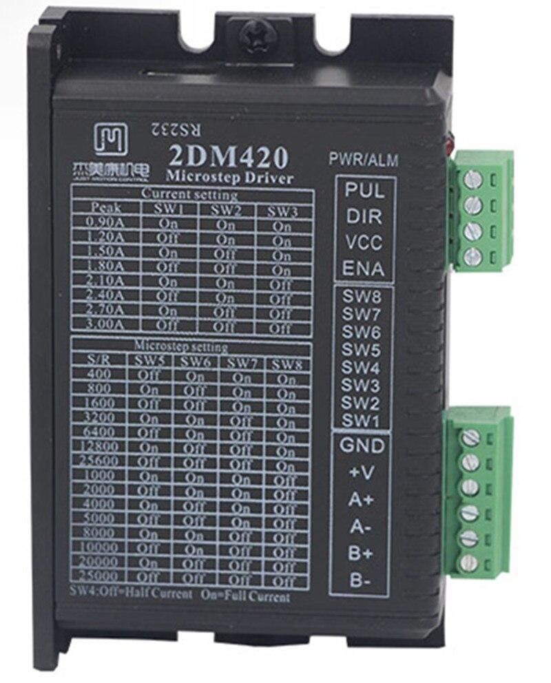 2DM420 2 phase NEMA14 NEMA17 stepper motor driver DC24-36V 2A JMC цена