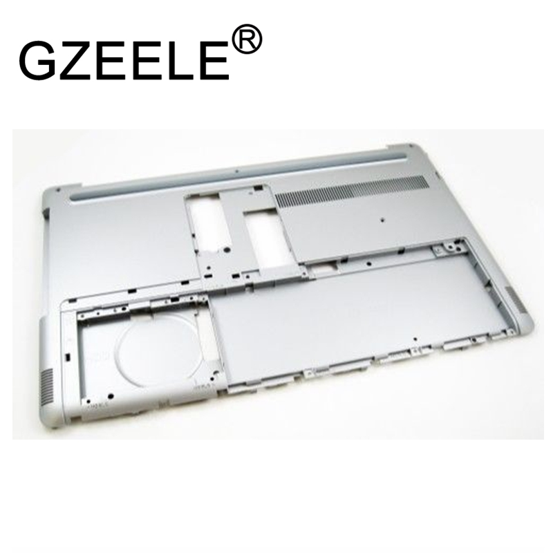 GZEELE new for Dell Inspirion 17 7737 7746 Laptop Base Bottom Cover Asembly 07YFPF 7YFPF lower case silver