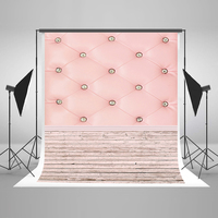 Newborn Photography Backdrops White Wood Floor Digital Printing Background Glass Crystal Background For Photography Studio