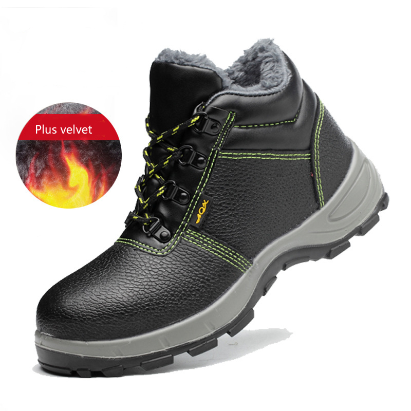 Waterproof Shoes Leather Safety Protective Shoes Men