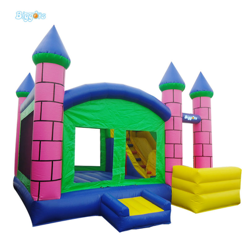 China Factory Inflatable Bounce House Slide Combo For Children china inflatable slides supplier large inflatable slide toys for children playground ocean world theme