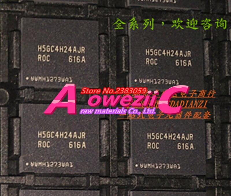 Aoweziic (2PCS) (5PCS) (10PCS) 100% new original H5GC4H24AJR-ROC H5GC4H24AJR-R0C BGA Memory card chip 4G
