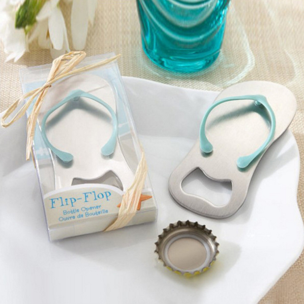 20pcs Creative Wedding Favors Gifts For Guests Flip Flop Bottle ...