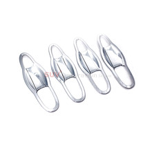 Accessories New ABS Plastic Side Car Door Handle Bowl 8pcs for Jeep Compass Second Generation 2017 2018 Accessories(China)