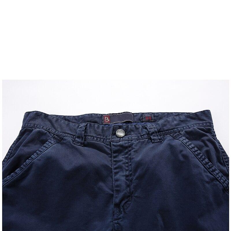 QiyuanLS Autumn Casual Pants Men Sweat Pants Male 100% Cotton Sportswear Menswear Long Casual Trousers Straight Pants