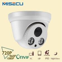 MISECU 360 вращение вручную просмотр Onvif P2P 720 P/960 P/1080 P Ip-массив Камеры ИК Ночного видения ABS Full HD Камеры видеонаблюдения