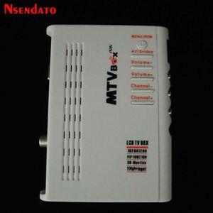 MTV LCD TV Box Computer To VGA S-Video Analog TV Program Receiver Tuner LCD Monitor PAL NTSC For DVD/PDP/PS2