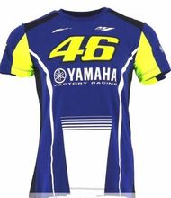 Фотография Valentino Rossi VR46 46 Shark Motocross Jerseys bike Cycling Racing Motorcycle Bicycle Motor QUICK-DRY Short Sleeve T-shirt