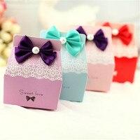 7 6 4 5 9 5cm Free Shipping 50Pcs Lot Sweet Lova Candy Box Wedding Invitations