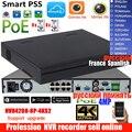 Mutil язык dahua 4K H.265 NVR 1U Сетевой Видео Регистраторы NVR4208-8P-4KS2 DH-NVR4208-8P-4KS2 DHI-4208-8P-4KS2 с 8 порт PoE