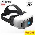 Vr 3d tudo em um google papelão filme jogo de vídeo virtuais Caixa de Óculos de realidade Quad-Core 1G RAM/8 GB Wifi Bluetooth Tela de 5 polegadas