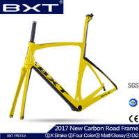 New Carbon Road Bike Frame 2017 BXT Bicycle Road Cheap Carbon Frame Matt Glossy China Frame