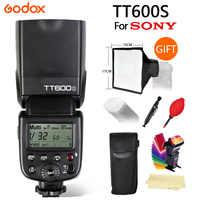 Godox TT600S Flash 2,4G Wireless X system GN60/High Speed Sync 1/8000 s/0,1 ~ 2,6 s recyceln zeit Kamera Flash Für Sony A6000 Kamera