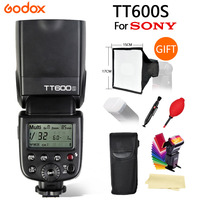 Godox TT600S Flash 2.4G Wireless X system GN60/High Speed Sync 1/8000s/0.1~2.6s recycle time Camera Flash For Sony A6000 Camera
