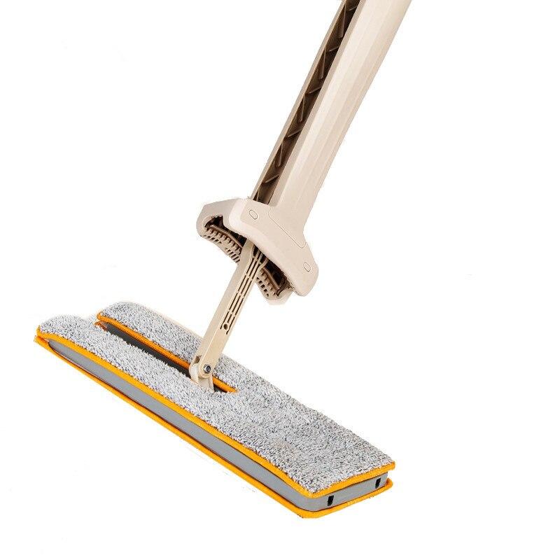 Magic  Mops Dustpans Hard Floor Cleaner Lazy Vassoura Self-Wringing Double Sided Flat