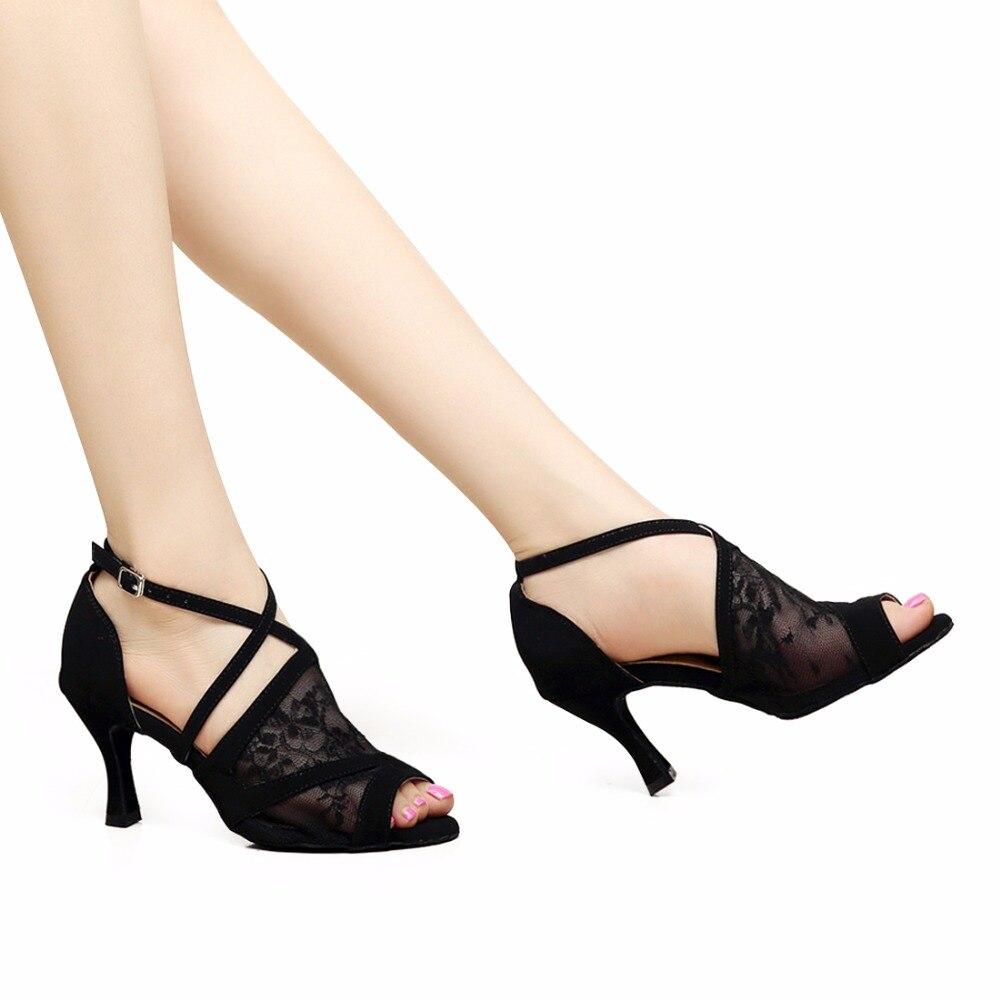MELLOW SHOP Salsa Tango Latin Dance Shoes Girls Women Ballroom Tango Salsa Latin Dance Shoes