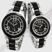 New Rhinestone Ceramics Watches Ladies Man Lover Fashionable Informal Watch Quartz Gown Wristwatches Clock Feminine Montre Homme
