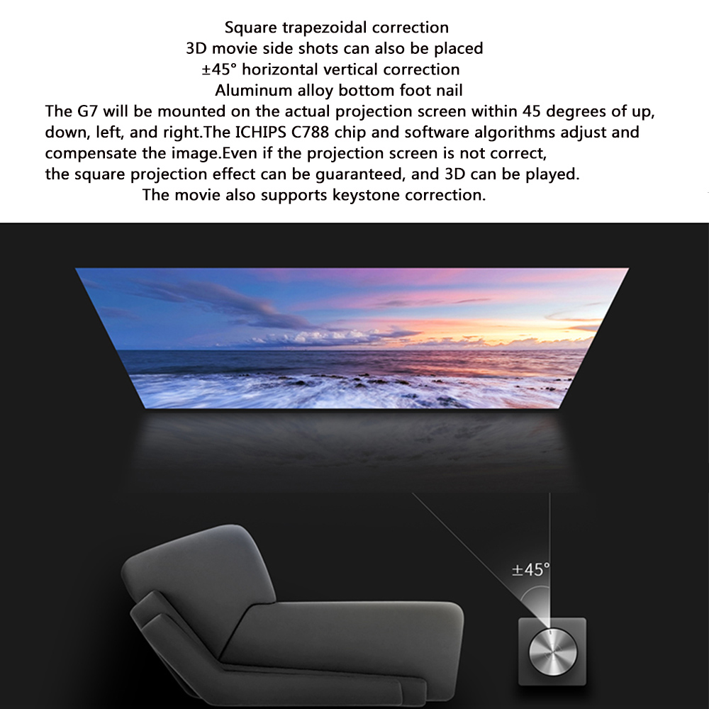 JmGO G7 Mini Projector Full HD  (7)