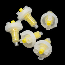 50 stücke Dental Dynamische Misch Tipps Dental Eindruck Material für Prägung Maschine Passt Pentamix Mischen Maschine Gelb 5:1