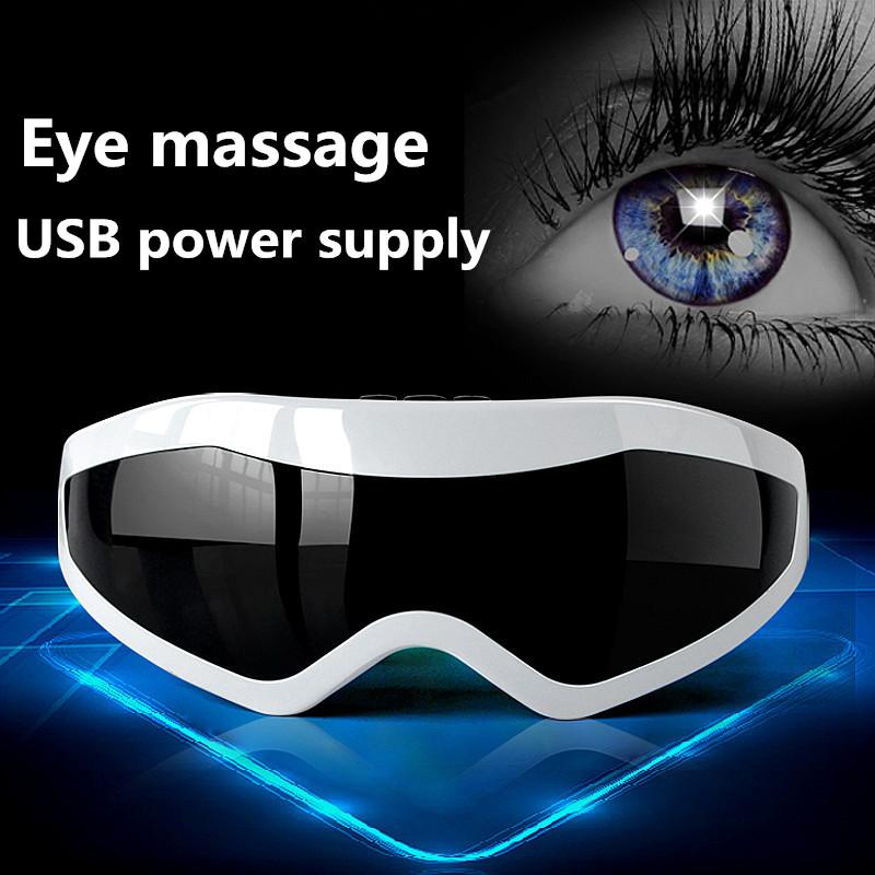 De Corriente USB Protección de Los Ojos Instrumento Ojo Dispositivo de Masaje Aliviar La Fatiga Restaurar la Visión instrumento Eléctrico T166