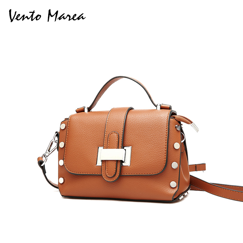 Vento Marea Women Messenger Bag Female Flap Bag PU Fashion Ladies Shoulder Bag Women Crossbody Bag Bolsos Mujer flap pu crossbody bag