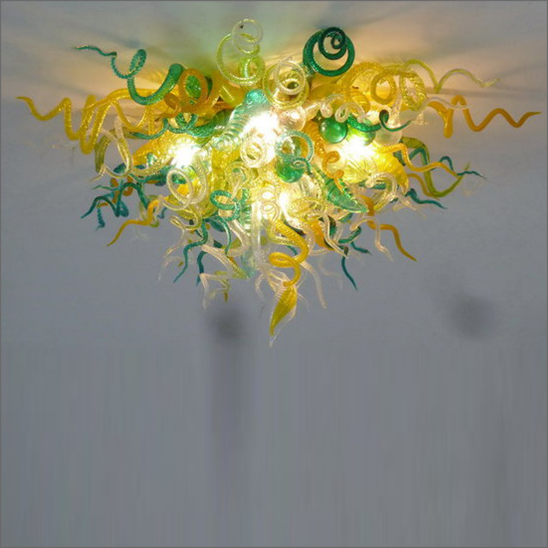 Spring Style Art Glass Chandelier Abstract Outdoor Blown Murano Glass Chandeliers