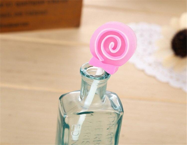 1200 PCS Cute Cartoon Kawaii Lollipop Rubber Eraser Creative Gifts School Supplies For Kids Student Korean Stationery