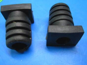 20pcs 18 6x5 Length 18 6mm Bore 5mm Rubber Square Strain
