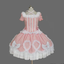 Anime Maid Cosplay Women Halloween Cosplay Lolita Dress Victorian Gothic Ball Dress Princess Birthday Party Dancing Costume(China)