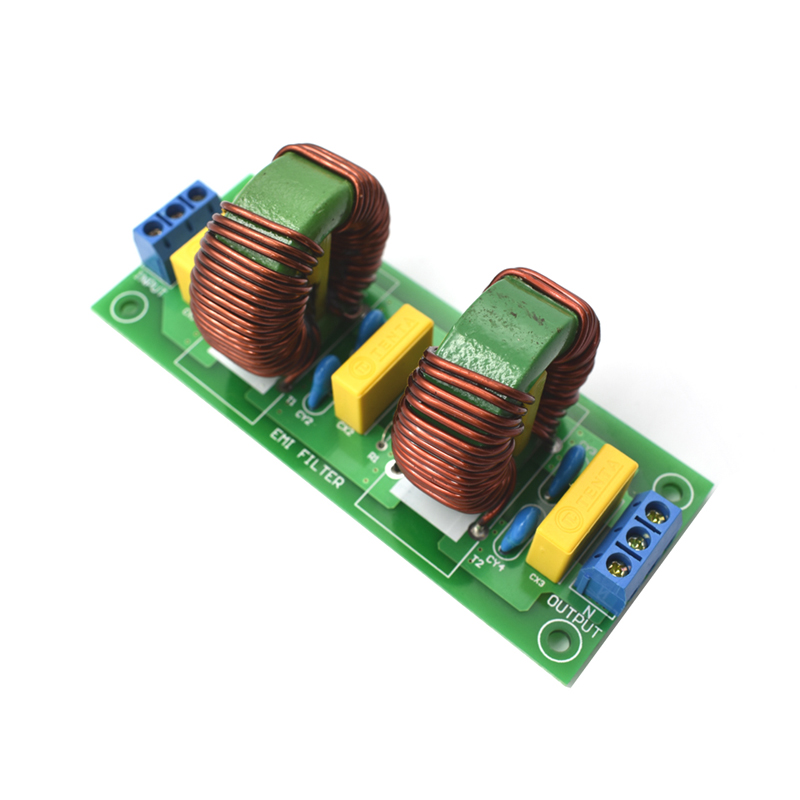 2-Stage EMI power purifier Filter module 10A AC purification impurities board