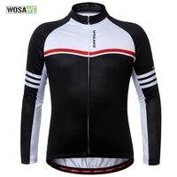 WOSAWE Winter Coats Keep Warm Cycling Jacket Women Men Tour De France Fietsjack Windproof Bicycle Clothes