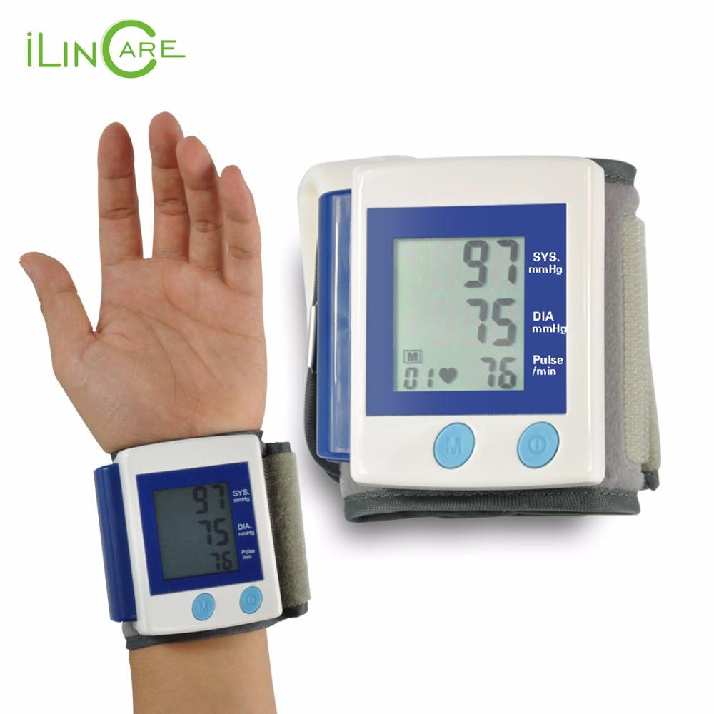 Health Care Automatic Digital Wrist Blood Pressure Monitor Meter Cuff Blood Pressure Measurement Health Monitor Sphygmomanometer (1)
