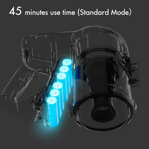 Image 3 - Xiaomi JIMMY JV51 Handheld Cordless Vacuum Cleaner Portable Wireless Cyclone Filter 115AW Suction Mi Carpet Dust Collector home