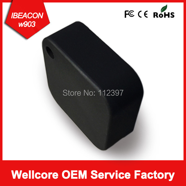 New Arrival Colorful case with Cr2477 battery bluetooth 4.0 iBeacon module ble beacon