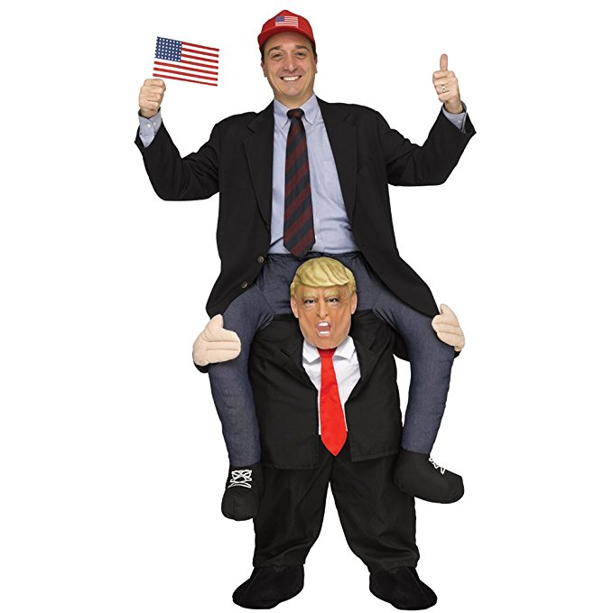 Funny Donald Trump Rider Costume Costumes Adults party Mascot Newest Carnival Purim Fancy Dress costume newest adults
