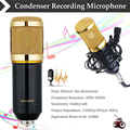 Professional Bm 800 Microfone Condensador Ktv Mikrofon Dynamic Video Recording Bm800 Microfone for Karaoke Mic with Stand Mount