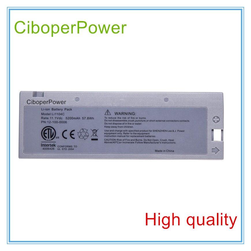 ECG Batterie Remplacement Pour ECG LI1104C M8000 M9500 M66 Bio-Médical Batterie