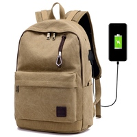 High Quality Laptop Computer Backpack Bag With USB Charger For 15 17inch Notebook Waterproof Travel Laptop