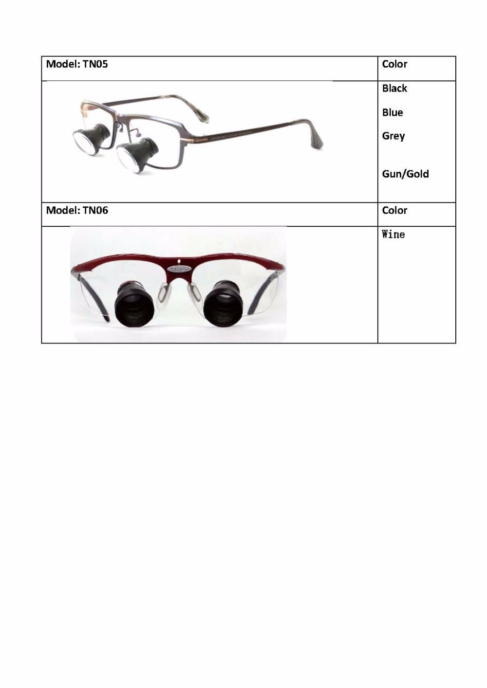 c3ca4094850f TAO S TTL china supplier 2.5x dental loupes Custom TTL magnifying ...