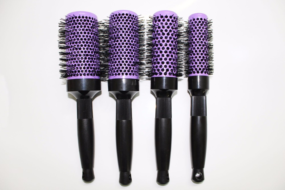 Conjunto de escova de cabelo iônico, escova