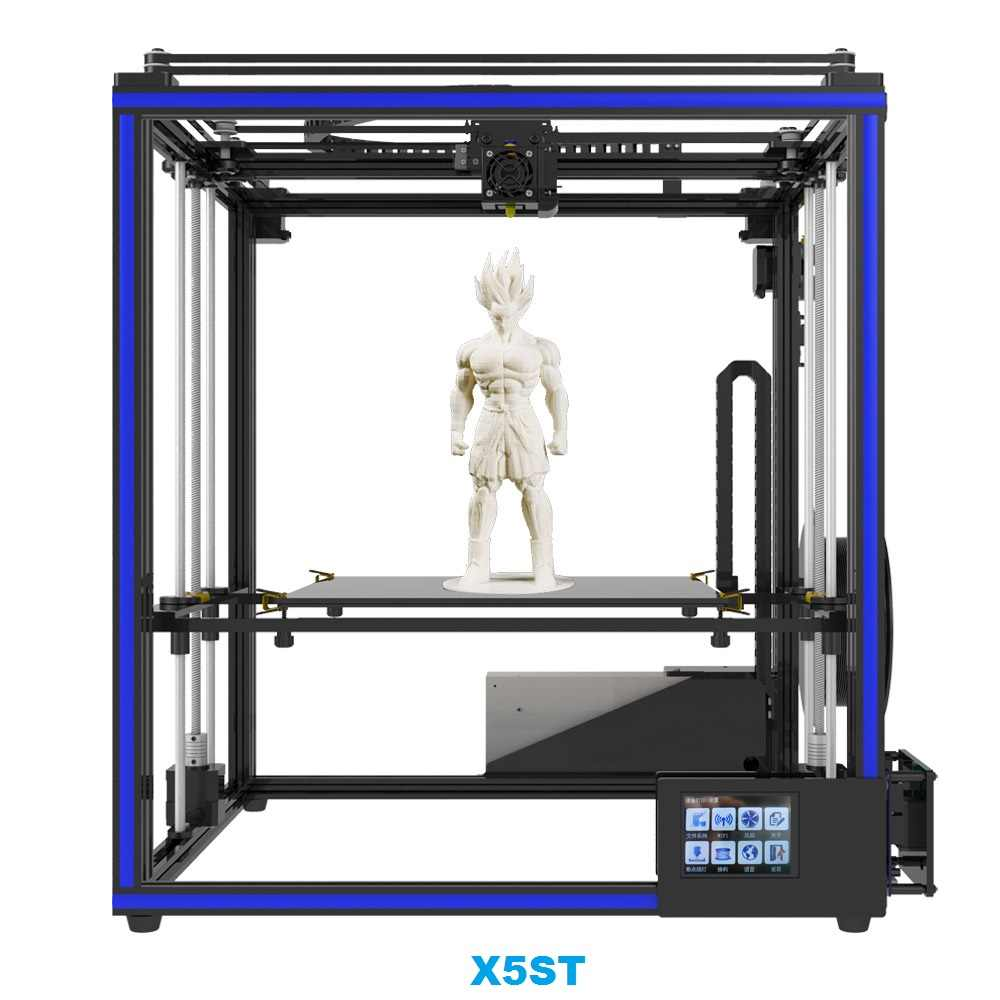3d Printer For Sale >> Hot Sale Tronxy X5sa 3d Printer Diy Kit Full Metal 3 5 Inches Touch Screen High Precision Auto Leveling Pla Filament As Gift