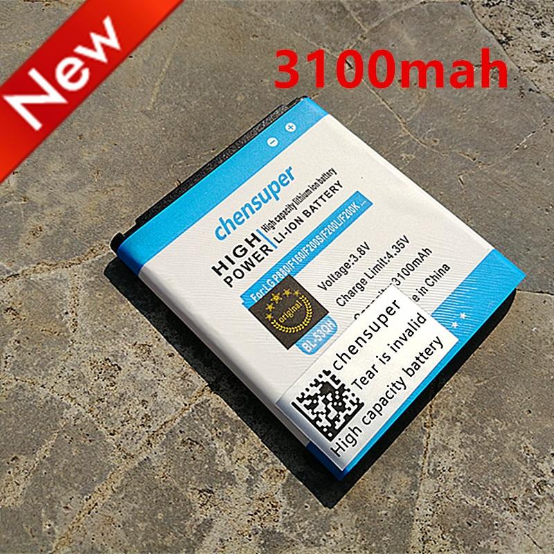 Chensuper Battery 3100mah For LG Optimus P880 4X HD F160 S/K P765/P760/L9/.. E0267 P870