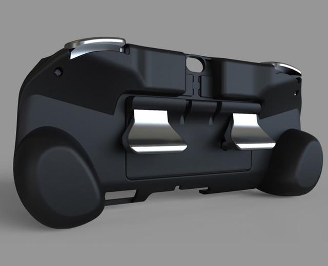 XBERSTAR L3 R3 Module de bouton de pavé tactile arrière pour PS VITA PSV1000 2000 jeu de synchronisation de pour PS3 PS4 accessoires de jeu