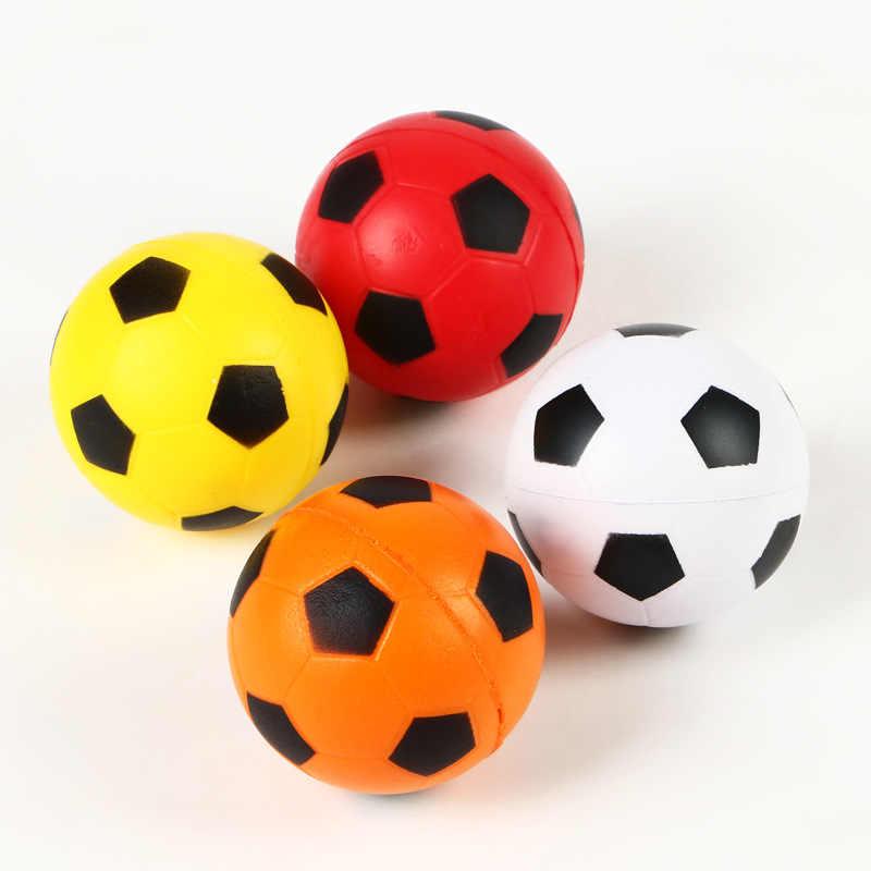 HZFZ 2 шт. 6,3 см PU губка анти-стресс мягкими мяч сюрприз надувной Игрушка антистресс мягкими замедлить рост Футбол Дети Забавный гаджет