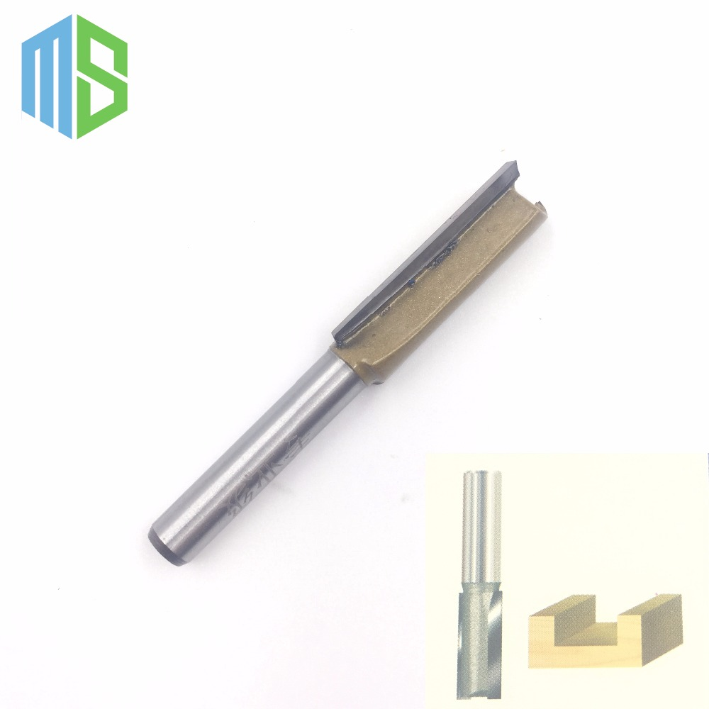 1/4 x 3/8 inch Straight Bit Tungsten Carbide Professional 1/4 Shank 3/8 Blade Router bit Wood Sharp Cutter Two Flute Wsasc тени для век vivienne sabo ombre a paupieres resistante solo petits jeux 118 цвет 118 variant hex name 1d1713