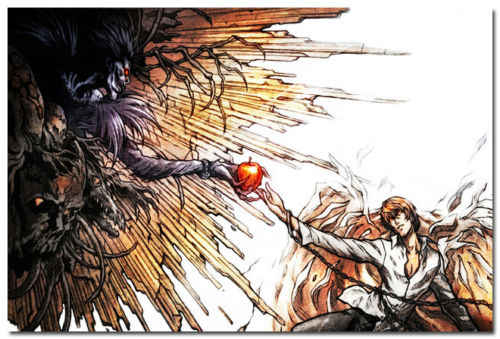 F-636 Death Note L Kira Detective Japan Anime Hot Poster 36 27x40in Art Print