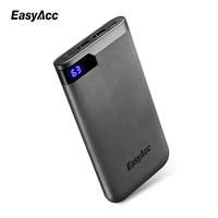 Easyacc 5V 2 1A 2 Ports 5000mah Powerbank Ultra Thin Portable External Battery Charger For Smart