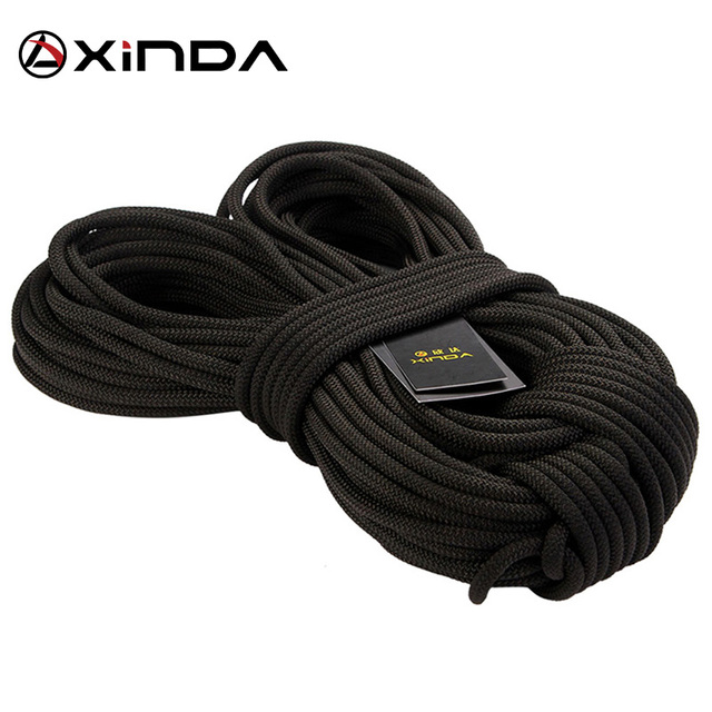 XIND Professional Rock Climbing Rope Outdoor Hiking 8mm Diameter  High Strength Safety Rope Fire Rescue