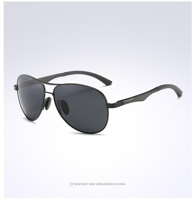 Homens HDSUNFLY HD Óculos Polarizados de Alumínio E Magnésio Óculos De Sol  para Homens Espelho Revestimento f04738e058