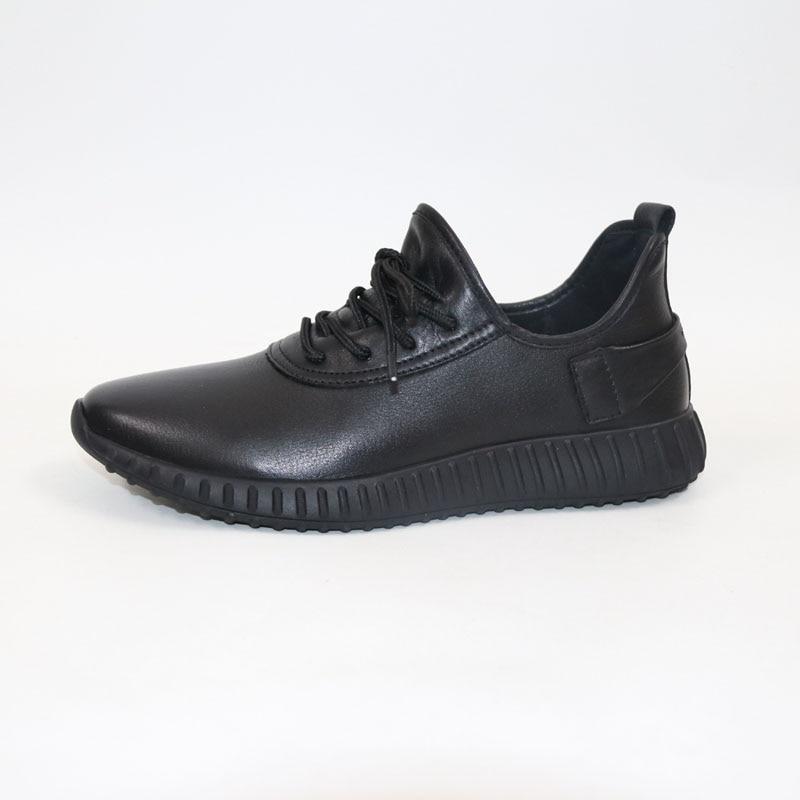 Décontracté en cuir chaussures hommes baskets chaussures En Cuir